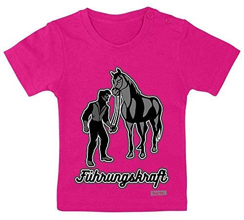 Kostüm Geburt Weisen Männer - HARIZ Baby T-Shirt Führungskraft Pferd Süß Tiere Dschungel Plus Geschenkkarten Einhorn Fuchsia 3-9 Monate / 60-69cm