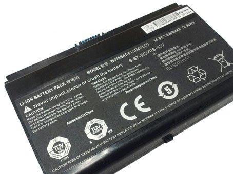 RTDpart Laptop Battery For CLEVO W350ET W350ETQ W350ST W370ET W370SK  W370BAT-8 6-87-W37SS-4271 14 8V 5200mAh New and Original