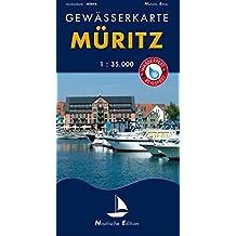 Gewässerkarte Müritz: Nautische Edition. Wasser- und reißfest. (Nautische Edition / Gewässerkarten. Wasserfest und reißfest. 1:35.000)