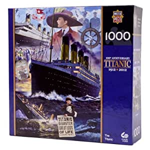 MasterPieces / Commemorative Titanic 1000-Piece Puzzle, Titanic Voyage by MASTERPIECES