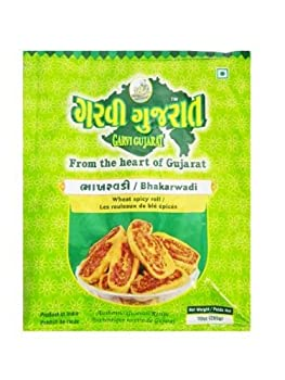 Garvi Gujarat - Rouleaux de blé épicés - bhakarwadi - 3 x 285 g