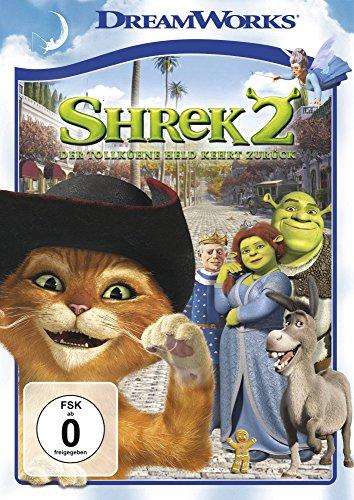 Shrek 2 - Der tollkühne Held kehrt zurück Shrek Dvd Von Amazon