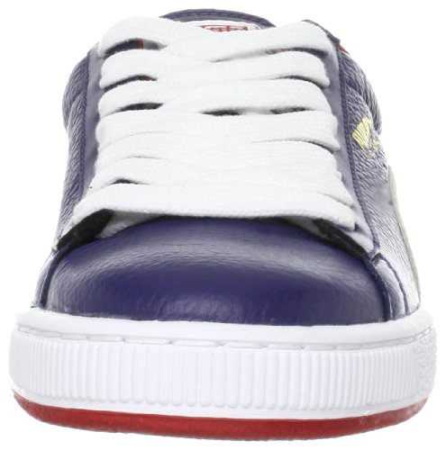 Puma Basket Classic Jeux Mex 354268, Sneaker Unisexe Adulte Bleu - Bleu / Blanc / Rouge