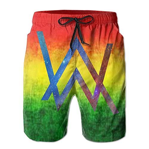 c60678992f cleaer Mary J. Johnson Swim Trunks Alan Walker Quick Dry Beach Board Shorts  Pants for