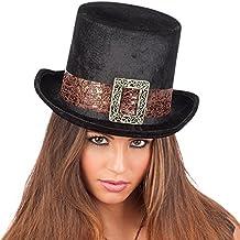 Carnival Toys - Sombrero de copa steampunk de terciopelo para adultos ece57806a17