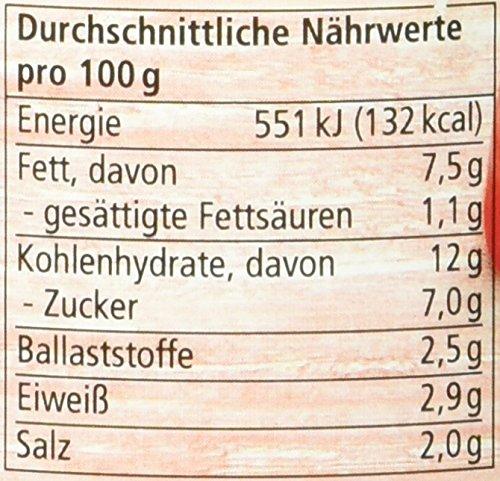 Alnatura Bio Brotaufstrich Paprika-Cashew, vegan, 6er Pack (6 x 125 g) - 2