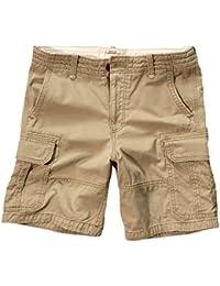 Hollister - Homme - Hollister Classic Fit Cargo Shorts Bermuda Short - Pantacourt