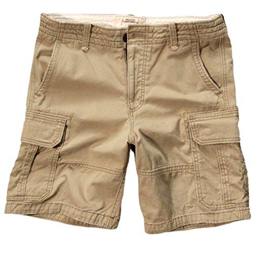 hollister-mens-hollister-classic-fit-cargo-shorts-bermuda-size-30-khaki-621531621