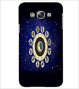 PrintDhaba Zodiac Wheel D-4813 Back Case Cover for SAMSUNG GALAXY GRAND 3 (Multi-Coloured)