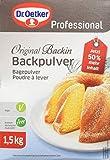 Dr. Oetker Professional Backpulver Original Backin, 1er Pack (1 x 1,5 kg)