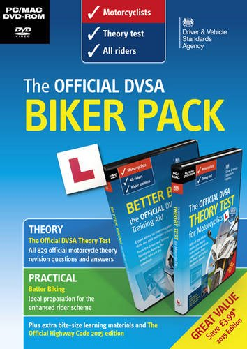 The Official DVSA Biker Pack [DVD] Test