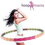 Hoopomania Large Hoop, Hula Hoop mit 96 Magneten 1,8kg