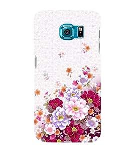 HiFi Designer Phone Back Case Cover Samsung Galaxy S6 G920I :: Samsung Galaxy S6 G9200 G9208 G9208/Ss G9209 G920A G920F G920Fd G920S G920T ( Pink Pattern Flowers Seasonal )