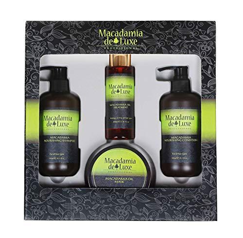 Repair Haarpflege Geschenk-Set für JEDEN Haartyp ✔ Extreme Strength + Soft, intensive Regeneration ✔ Macadamia DeLuxe PROFESSIONAL ✔ Vorteilspreis -