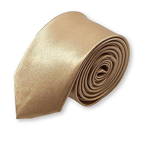 cravate slim unie tendance