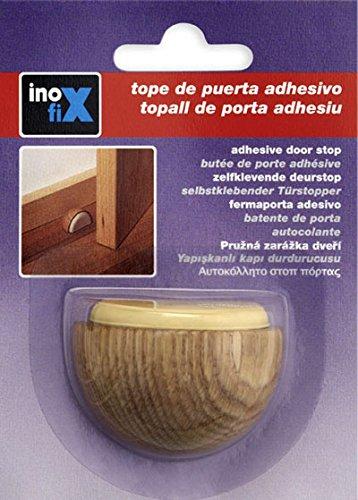 Inofix M258378 - Tope puerta madera adhesivo 2039-8a