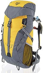 Bestway Pavillo Dura Trek Outdoor Unisex Backpack - Grey & Yellow, 6