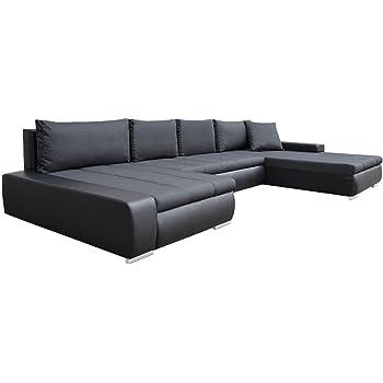 Großes Design Ecksofa Caro Elegante U Form Couch Eckcouch Mit