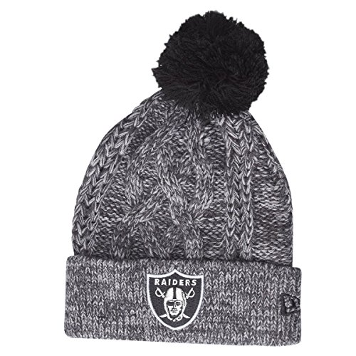 Oakland raiders beanie(grey) the best Amazon price in SaveMoney.es 321931384