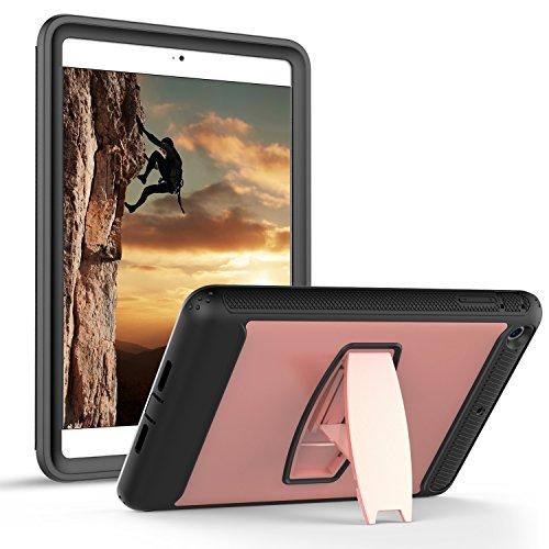 iPad Mini Fall, Daker iPad Mini 2Fall, iPad Mini 3Fall Full Body Schutz Regendicht Stoßfest Impact Resistent Anti Slip Cover mit zurück Ständer für Apple iPad Mini 123, Rose Gold