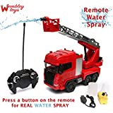Wembley Toys Fire Rescue Truck With Remote Water Spray Mode (Fire Rescue)