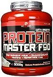 BWG Protein Master F90, Eiweißshake mit BCAA`S und Glutamin, Muskelaufbauphase, Deluxe Proteinshake Chocolate, Dose mit Dosierlöffel, Muscle Line, 1er Pack (1 x 3000g)