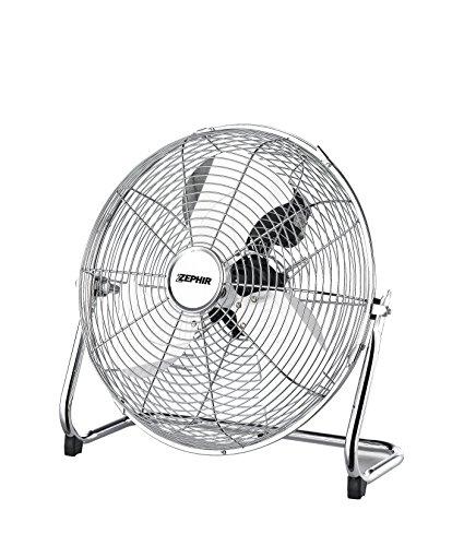Zephir PF35CR Ventilatore da Pavimento, Cromato