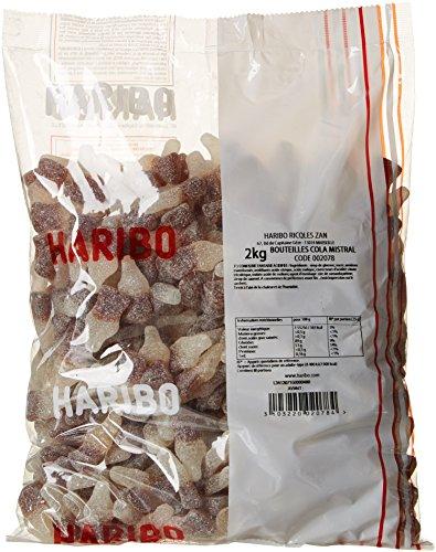 Haribo Bonbon Gélifié Bout. Cola Mistral Pik 2 kg