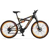 Hercules Roadeo Hannibal Gear Steel Black 18 Inch Frame Mountain Cycle