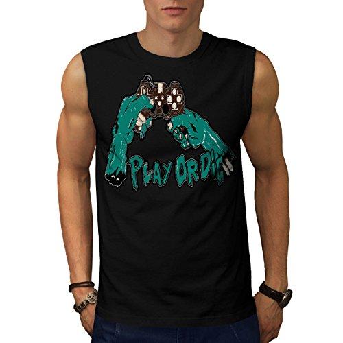 Militär-armee-scharfschütze-t-shirt Top (Spielen Oder Sterben Gamer Gaming Konsole Spaß Herren S Ärmellos T-shirt | Wellcoda)