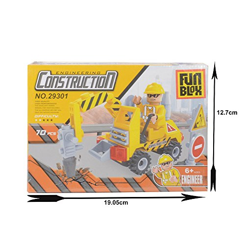 FunBlox Engineering Construction Collection Construction Truck Blocks