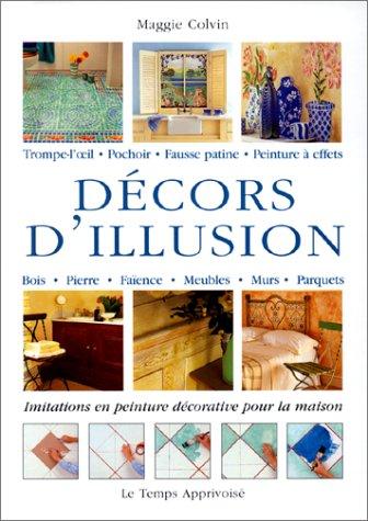 Décors d'illusion : initiations en peinture décorative pour la maison