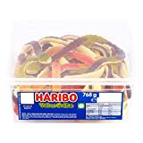 HARIBO Giant Snakes Yellow Bellies Tub Bulk Sweets