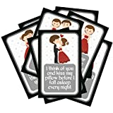 SYGA Set of 8 Exciting Lives Love Story Romantic Love Cards - Birthday, Anniversary Gift, pre Wedding Photo Shoot, Post Wedding Photoshoot