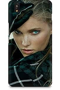 Amez designer printed 3d premium high quality back case cover for OnePlus X (Hosk model pose sexy girl art.JPG)