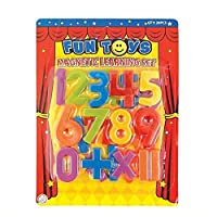 Deco Fleur Magnetic Numbers Childrens Kids Learning Toy Fridge Magnets