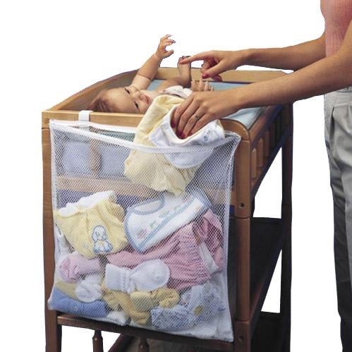Izusa (TM) Baby Aufbewahrungstasche Wickeltasche Dirty Reinigungstuch Organizer für Baby Wiege
