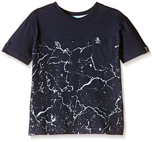 original-penguin-t-shirt-bebe-garcon-bleu-11-ans