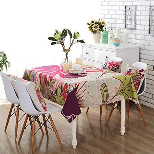 Gedruckt Tischdecke Baumwolle und Leinen Tischdecke Platz Home Hotel Mit Deckel Handtuch Wohnzimmer...