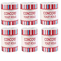 CONCORD Toilet Roll CC TR - 1*1 (Pack of 6)