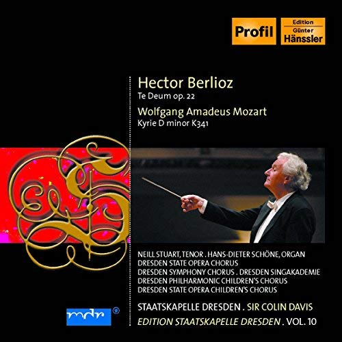 Te Deum Kyrie D-Minor by MOZART BERLIOZ (2006-10-31)