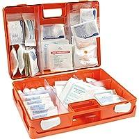 Erste-Hilfe-Koffer Sanitätskoffer DIN 13169 Kunststoff ABS + Wandhalterung preisvergleich bei billige-tabletten.eu