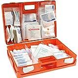 Erste-Hilfe-Koffer Sanitätskoffer DIN 13169 Kunststoff ABS + Wandhalterung