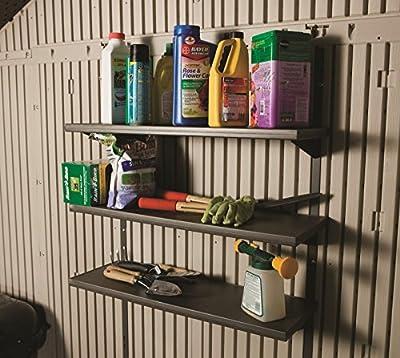 Lifetime 3-Fach-Regal Gerätehäuser (3-Fach-Regal); Kunststoffregal u. Regalleiste von Lifetime auf Gartenmöbel von Du und Dein Garten