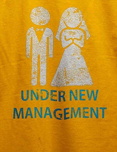 Under New Management Vintage T-Shirt Gelb