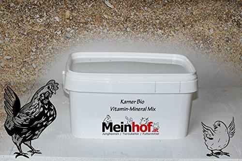 Bio Vitamine Minéral Mix pour volaille dans le seau de 4,5 kg