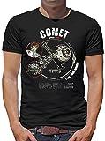 TLM Comet Tycho T-Shirt Herren M Schwarz
