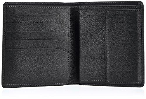 Bogner CREDIT CARD 1018039 Unisex-Erwachsene Geldbörsen 10x12x2 cm (B x H x T) Schwarz (black 001)