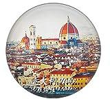 MUYU Magnet Florencia Italia Imán de Nevera Regalo de Recuerdo de Viaje Hogar y Cocina Decoración Etiqueta Magnética Cristal Refrigerador Colección de Imanes