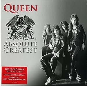 Queen : 2LP - Absolute Greatest White Vinyl 2015